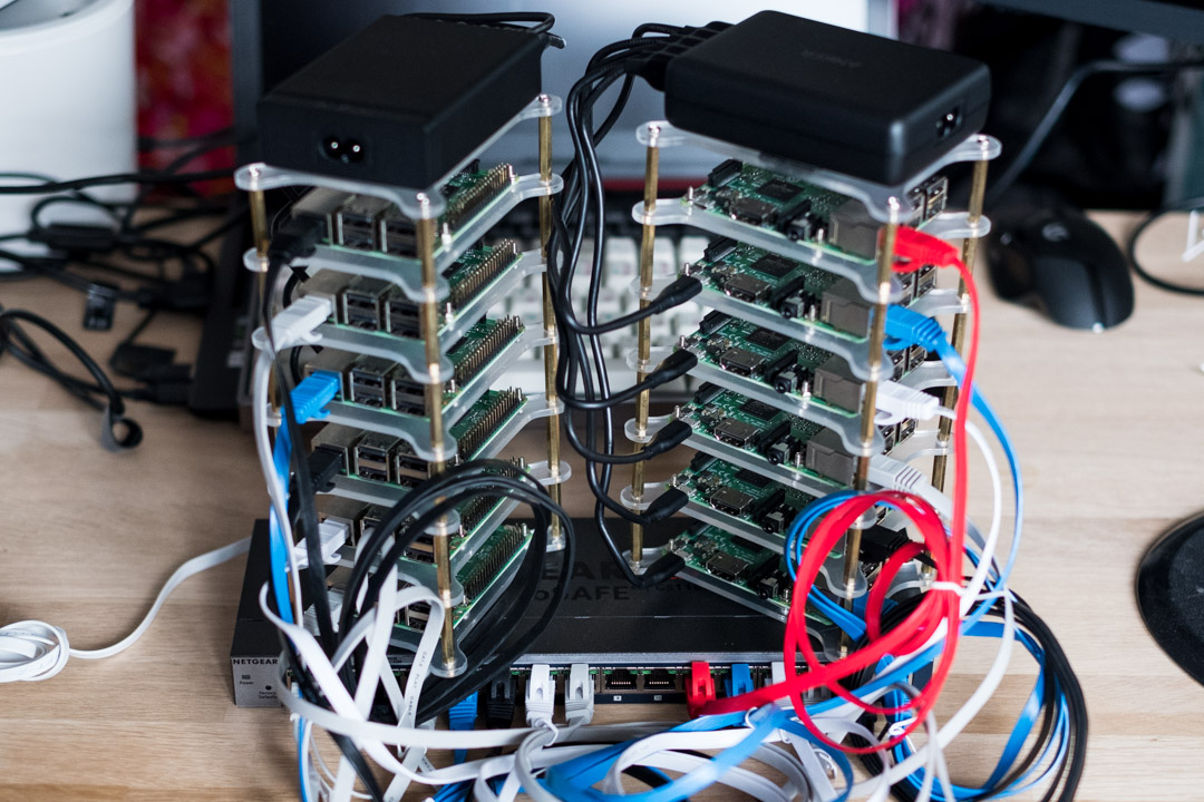 Raspberry Pi Cluster with network